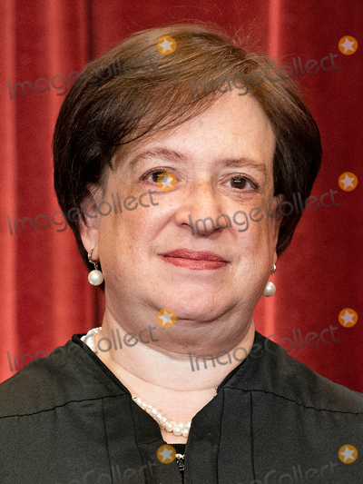 Supremes, The Supremes, Group Photo, Supreme Court Photo - Associate Justice of the Supreme Court Elena Kagan stands during a group photo of the Justices at the Supreme Court in Washington, DC on April 23, 2021. Credit: Erin Schaff / Pool via CNP/AdMedia