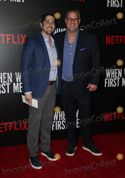 "Adam Saunders, Mason Novick Photo - 20 February 2018 - Hollywood, California - Adam Saunders, Mason Novick. Special Screening of Netflix ""When We First Met"" held at Arclight Hollywood. Photo Credit: F. Sadou/AdMedia"