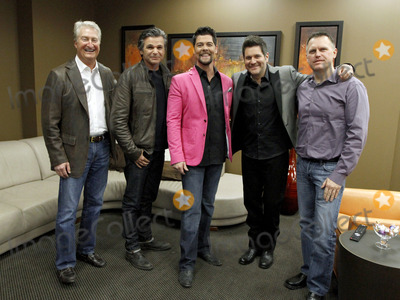 Jason Crabb, Jay DeMarcus, Rascal Flatts, Wayne Haun, Andy Andrews, Doves Photo - March 6, 2013 - Gainesville, GA - Grammy and multiple Dove award winner Jason Crabb held a celebration at the Free Chapel Church in Gainesville, GA for the release of his latest album, Love Is Stronger. Crabb was joined by Rascall Flatts member Jay Demarcus, who co-produced the album with Wayne Haun, and best selling author and motivational speaker Andy Andrews. Photo credit: Dan Harr/AdMedia