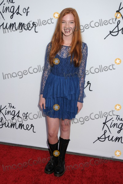 """Annalise Basso Photo - 28 May 2013 - Hollywood, California - Annalise Basso. """"The Kings Of Summer"""" Los Angeles Premiere held at Arclight Cinemas. Photo Credit: Byron Purvis/AdMedia"""