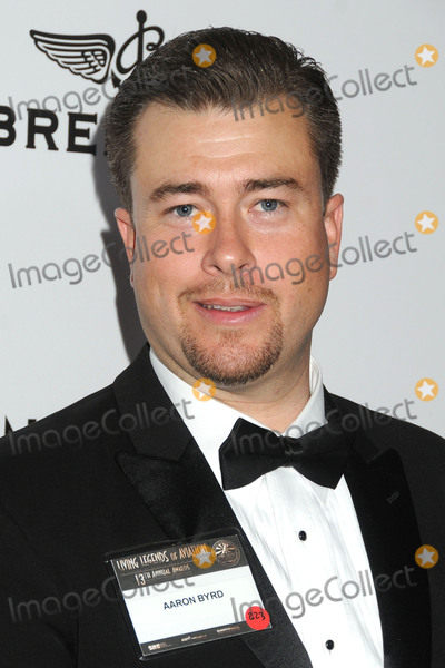 """Aaron Byrd, Byrds Photo - 22 January 2016 - Beverly Hills, California - Aaron Byrd. 13th Annual """"Living Legends of Aviation"""" Awards held at the Beverly Hilton Hotel. Photo Credit: Byron Purvis/AdMedia"""