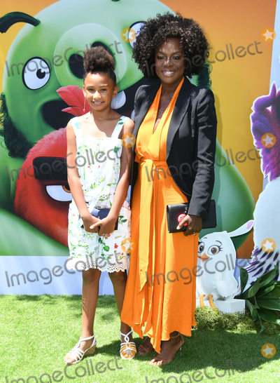 "Genesis, Viola Davis, Angry Bird, Angry Birds, Genesis Tennon Photo - 10 August 2019 - Westwood, California - Genesis Tennon, Viola Davis. Sony's ""The Angry Birds Movie 2"" Los Angeles Premiere held at Regency Village Theater. Photo Credit: Birdie Thompson/AdMedia"