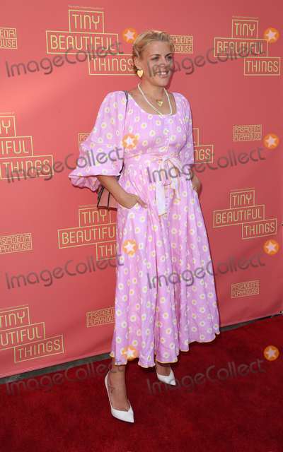 "Busy Phillips Photo - 14 April 2019 - Pasadena, California - Busy Phillips. Pasadena Playhouse Presents The Public Theater Production Of Tiny ""Beautiful Things"" - Opening Night Performance held at Pasadena Playhouse. Photo Credit: Faye Sadou/AdMedia"