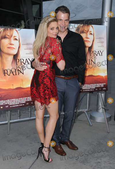 """Christina Moore, John Ducey Photo - 07 June 2017 - Hollywood, California - Christina Moore, John Ducey. Los Angeles premiere of """"Pray For Rain"""" held at ArcLight in Hollywood. Photo Credit: Birdie Thompson/AdMedia"""