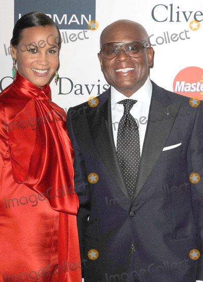 """Antonio """"L.A."""" Reid, Antonio L.A. Reid, Clive Davis, Erica Reid, L A Reid, L. A. Reid, L.A. Reid, """"L A"""" Reid, """"LA"""" Reid, LA Reid, L.A Reid Photo - 09 February 2013 - Beverly Hills, California - Antonio L.A. Reid, Erica Reid. Clive Davis And The Recording Academy's 2013 GRAMMY Salute To Industry Icons Gala held at The Beverly Hilton Hotel. Photo Credit: Kevan Brooks/AdMedia"""