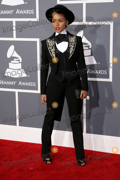 Janelle Monae, Janell Monae, Grammy Awards Photo - 10 February 2013 - Los Angeles, California - Janelle Monae. The 55th Annual GRAMMY Awards held at STAPLES Center. Photo Credit: AdMedia