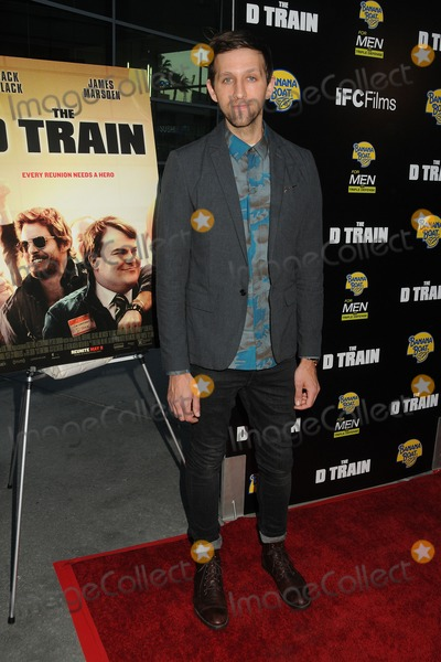 "Andrew Dost, Train Photo - 27 April 2015 - Hollywood, California - Andrew Dost. ""D Train"" Los Angeles Premiere held at Arclight Cinemas. Photo Credit: Byron Purvis/AdMedia"