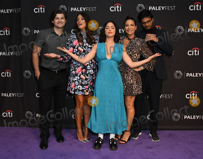 """Constance Marie, Angelique Cabral, Kevin Bigley, Angelique  Cabral, Siddharth Dhananjay, Rosa Salazar, Teairra Marí Photo - 06 September 2019 - Beverly Hills, California - Kevin Bigley, Angelique Cabral, Rosa Salazar, Constance Marie, Siddharth Dhananjay. The Paley Center For Media's 2019 PaleyFest Fall TV Previews - """"Undone"""" held at The Paley Center for Media. Photo Credit: Birdie Thompson/AdMedia"""