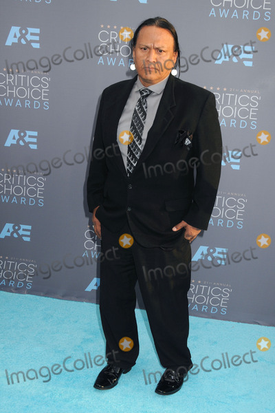 Arthur Redcloud Photo - 17 January 2016 - Santa Monica, California - Arthur RedCloud. 21st Annual Critics' Choice Awards - Arrivals held at Barker Hangar. Photo Credit: Byron Purvis/AdMedia