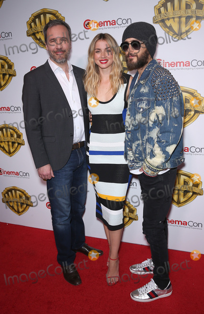 Denis Villeneuve, Jared Leto Photo - 29 March 2017 - Las Vegas, NV - Denis Villeneuve, Ana De Armas, Jared Leto. 2017 Warner Brothers The Big Picture Presentation at CinemaCon at Caesar's Palace.  Photo Credit: MJT/AdMedia