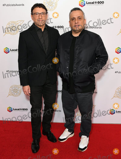 Anthony Russo, Joe Corré, Joe Russo Photo - 07 February 2020 - Beverly Hills - Anthony Russo, Joe Russo. 57th Annual ICG Publicists Awards Luncheon  held at Beverly Hilton Hotel. Photo Credit: Birdie Thompson/AdMedia