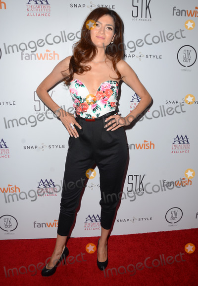 Blanca Blanco Photo - 13 July 2015 - West Hollywood, California - Blanca Blanco. Arrivals for the Pre-ESPY Kickoff Party held at STK. Photo Credit: Birdie Thompson/AdMedia