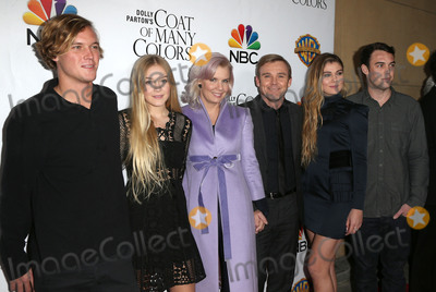 Andrea Bernard, Andrea Bernard Schroder, Andrea Bernard-Schroder, Dolly Parton, Ricky Schroder, Cambrie Schroder Photo - 02 December 2015 - Hollywood, California - Andrea Bernard Schroder, Ricky Schroder, Cambrie Schroder, Luke . Dolly Partons Coat of Many Colors Screening held at the  Egyptian Theatre. Photo Credit: Sammi/AdMedia