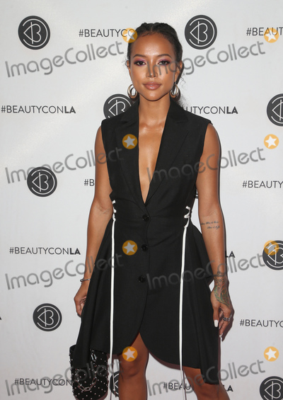 Karrueche Tran Photo - 14 July 2018-  Los Angeles, California - Karrueche Tran. the 5th Annual Beautycon Festival LA 2018 held at the Los Angeles Convention Center. Photo Credit: Faye Sadou/AdMedia