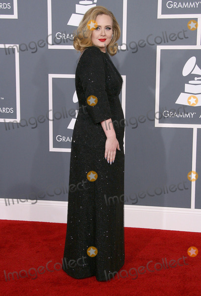 Adele, Grammy Awards Photo - 12 February 2012 - Los Angeles, California - Adele. The 54th Annual GRAMMY Awards held at the Staples Center. Photo Credit: AdMedia