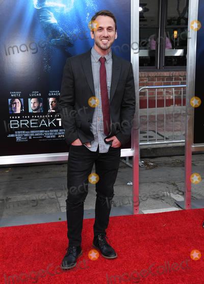 "Adam McArthur Photo - 11 April 2019 - Westwood, California - Adam McArthur. ""Breakthrough"" Los Angeles Premiere held at Regency Village Theater. Photo Credit: Birdie Thompson/AdMedia"