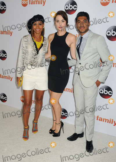 Allison Scagliotti, Salli Richardson, Salli Richardson Whitfield, Salli Richardson-Whitfield, Sally Richardson, Ritesh Rajan Photo - 4 August 2015 - Beverly Hills, California - Salli Richardson-Whitfield, Allison Scagliotti, Ritesh Rajan. Disney ABC Television Group 2015 TCA Summer Press Tour held at the Beverly Hilton Hotel. Photo Credit: Byron Purvis/AdMedia