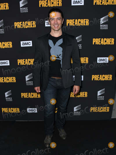 "Adam Croasdell Photo - 14 June 2018 - Los Angeles, California - Adam Croasdell. AMC's ""Preacher"" Season 3 Premiere Party held at  The Hearth and Hound. Photo Credit: Birdie Thompson/AdMedia"