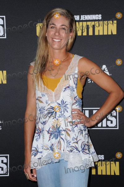 """April Ross, Kerri Walsh Photo - 28 July 2016 - Beverly Hills, California. April Ross. The world film premiere of """"Kerri Walsh Jennings: Gold Within""""  held at the Paley Center for Media. Photo Credit: Birdie Thompson/AdMedia"""