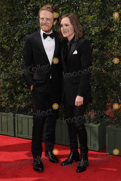 Ellen Page Photo - 11 September 2016 - Los Angeles, California. Ian McDaniel, Ellen Page. 2016 Creative Arts Emmy Awards - Day 2 held at Microsoft Theater. Photo Credit: Birdie Thompson/AdMedia