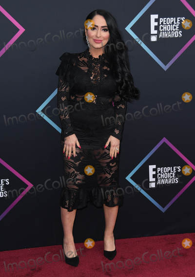 Angelina Pivarnick Photo - 11 November 2018 - Santa Monica, California - Angelina Pivarnick. 2018 E! People's Choice Awards - Arrivals held at Barker Hangar. Photo Credit: Birdie Thompson/AdMedia