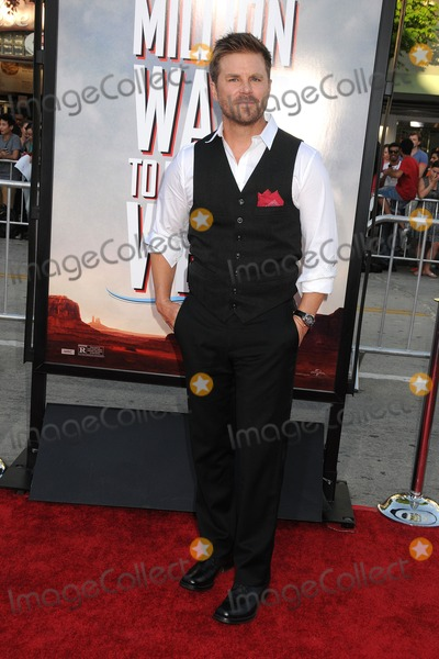 """Aaron McPherson Photo - 15 May 2014 - Westwood, California - Aaron McPherson. """"A Million Ways to Die in the West"""" Los Angeles Premiere held at the Regency Village Theatre. Photo Credit: Byron Purvis/AdMedia"""