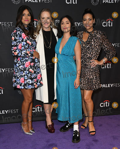 """Constance Marie, Angelique Cabral, Jennifer Salke, Angelique  Cabral, Rosa Salazar, Jamie Salé, Teairra Marí Photo - 06 September 2019 - Beverly Hills, California - Angelique Cabral, Jennifer Salke, Rosa Salazar, Constance Marie. The Paley Center For Media's 2019 PaleyFest Fall TV Previews - """"Undone"""" held at The Paley Center for Media. Photo Credit: Birdie Thompson/AdMedia"""