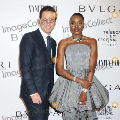 Kiki Layne, Daniel Paltridge Photo - 23 April 2019 - New York, New York - Daniel Paltridge and Kiki Layne at BVLGARIs World Premiere of Celestial and The Fourth Wave, with Vanity Fair for the 18th Annual Tribeca Film Festival at Spring Studios. Photo Credit: LJ Fotos/AdMedia