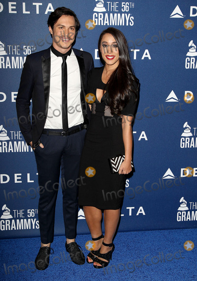 Sierra Deaton, Alex Kinsey Photo - 23 January 2014 - West Hollywood, California - Alex Kinsey, Sierra Deaton. Delta Air Lines Toasts 2014 GRAMMY Weekend With Lorde held at the Soho House. Photo Credit: Kevan Brooks/AdMedia