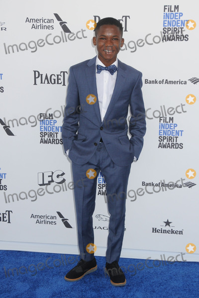 Abraham Attah Photo - 27 February 2016 - Santa Monica, California - Abraham Attah. 31st Annual Film Independent Spirit Awards - Arrivals held at the Santa Monica Pier. Photo Credit: Byron Purvis/AdMedia