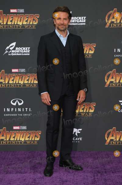 """Bradley Cooper Photo - 23 April 2018 - Hollywood, California - Bradley Cooper. Disney and Marvel's """"Avengers: Infinity War"""" Los Angeles Premiere held at Dolby Theater. Photo Credit: F. Sadou/AdMedia"""