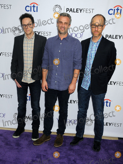 "Paul Andrew, Jarrad Paul, Andrew Mogel, Ben Wexler Photo - 15 September 2015 - Beverly Hills, California - Jarrad Paul, Andrew Mogel, Ben Wexler. 2015 PaleyFest Fall TV Preview - ""The Grinder"" held at The Paley Center. Photo Credit: Byron Purvis/AdMedia"