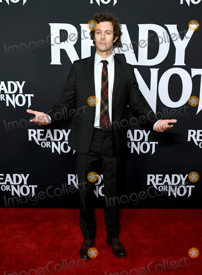 "Adam Brody Photo - 19 August 2019 - Culver City, California - Adam Brody. Fox Searchlight's ""Ready Or Not"" Los Angeles Screening held at Arclight Culver City. Photo Credit: Birdie Thompson/AdMedia"
