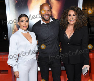 "Amaury Nolasco, Diana Maria Riva, Diana-Maria Riva, Eva Longoria, Maria Riva Photo - 30 January 2019 - Los Angeles, California - Eva Longoria, Amaury Nolasco, Diana Maria Riva. ""Miss Bala"" Los Angeles Premiere held at Regal Cinemas LA Live. Photo Credit: Birdie Thompson/AdMedia"
