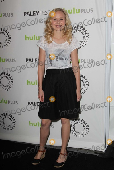 Alison Pill Photo - 3 March 2013 - Beverly Hills, California - Alison Pill. NewsRoom at PaleyFest 2013 Held At The Saban Theatre. Photo Credit: Kevan Brooks/AdMedia