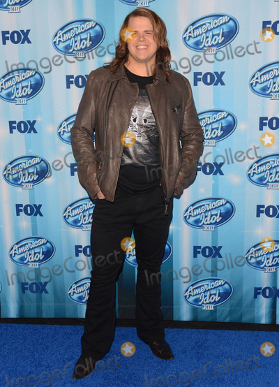 Caleb Johnson Photo - 21 May 2014 - Los Angeles, California - Caleb Johnson.    Press room of American Idol XIII Grand Finale held at the Nokia Theater in Los Angeles, Ca. Photo Credit: Birdie Thompson/AdMedia