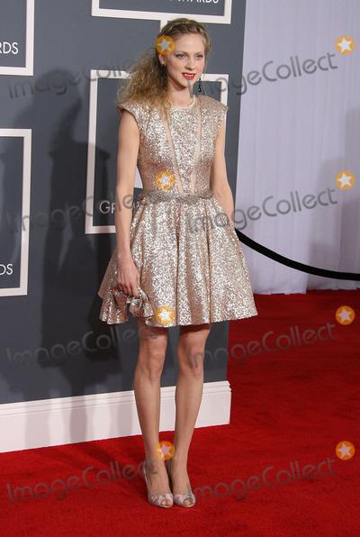 Grammy Awards Photo - 12 February 2012 - Los Angeles, California - Greta Svabo Bec. The 54th Annual GRAMMY Awards held at the Staples Center. Photo Credit: AdMedia