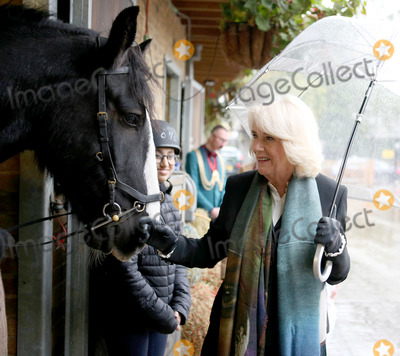 Duchess of Cornwall, Ebony Photo - 13 October 2020 -Camilla Duchess of Cornwall visits Ebony Horse Club as President of the Club in Brixton, South London. Photo Credit: ALPR/AdMedia