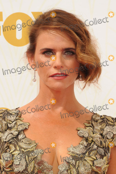 Amy Landecker Photo - 20 September 2015 - Los Angeles, California - Amy Landecker. 67th Annual Primetime Emmy Awards - Arrivals held at Microsoft Theater. Photo Credit: Byron Purvis/AdMedia
