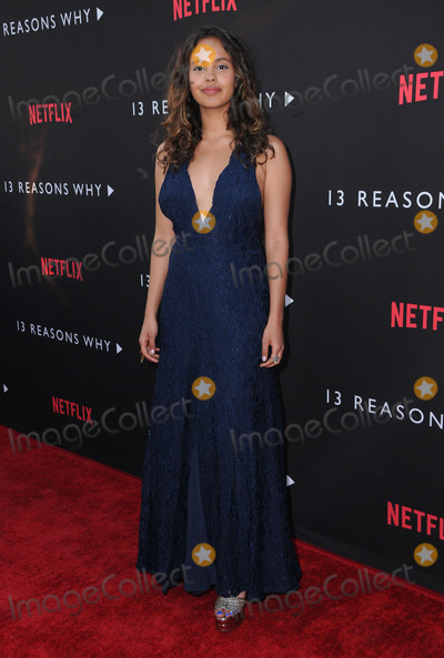 "Alisha Boe Photo - 30 March 2017 - Los Angeles, California - Alisha Boe.  Premiere Of Netflix's ""13 Reasons Why"" held at Paramount Studios in Los Angeles. Photo Credit: Birdie Thompson/AdMedia"