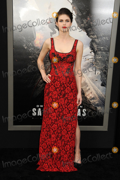 """Alexandra Daddario, TCL Chinese Theatre Photo - 26 May 2015 - Hollywood, California - Alexandra Daddario. """"San Andreas"""" Los Angeles Premiere held at the TCL Chinese Theatre. Photo Credit: Byron Purvis/AdMedia"""