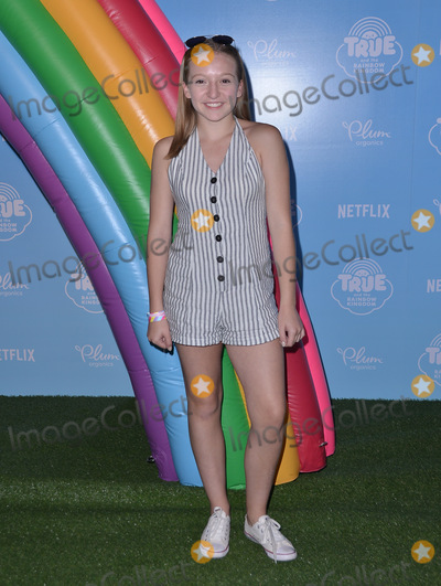 """Anna Bartlam, Anna Maria Perez de Taglé Photo - 10 August  2017 - Los Angeles, California - Anna Bartlam.   Premiere of Netflix's """"True and The Rainbow"""" held at Pacific Theaters at The Grove in Los Angeles. Photo Credit: Birdie Thompson/AdMedia"""