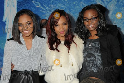 "McClain Sisters, China Anne Photo - 19 November 2013 - Hollywood, California - China Anne McClain, Sierra McClain, Lauryn McClain, McClain Sisters. ""Frozen"" Los Angeles Premiere held at the El Capitan Theatre. Photo Credit: Byron Purvis/AdMedia"