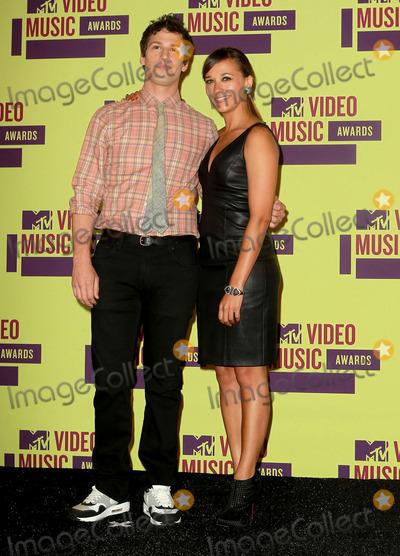 Rashida Jones, Andy Sandberg Photo - 6 September 2012 - Los Angeles, California - Andy Sandberg and Rashida Jones. 2012 MTV Video Music Awards held at Staples Center. Photo Credit: Kevan Brooks/AdMedia