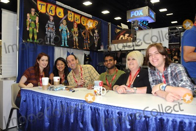"""Photo - 23 July 2011 - San Diego, California - Cast of """"The Guild"""". Comic-Con International 2011 - Day 3 held at the San Diego Convention Center. Photo Credit: Byron Purvis/AdMedia"""
