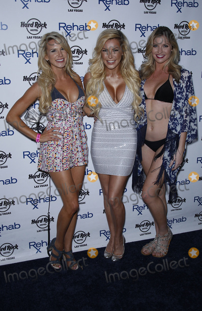 Crystal Hefner, Amanda Vanderpool Photo - 13 June 2015 - Las Vegas, Nevada - Amanda Vanderpool, Crystal Hefner, Carly Lauren.  Crystal Hefner at REHAB at the Hard Rock Hotel and Casino.  Photo Credit: MJT/AdMedia