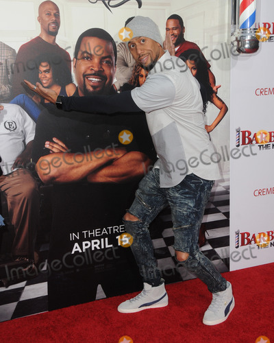 "Affion Crockett Photo - 06 April 2016 - Hollywood, California - Affion Crockett. Arrivals for the Los Angeles Premiere of ""Barbershop: The Next Cut"" held at TCL Chinese Theater. Photo Credit: Birdie Thompson/AdMedia"