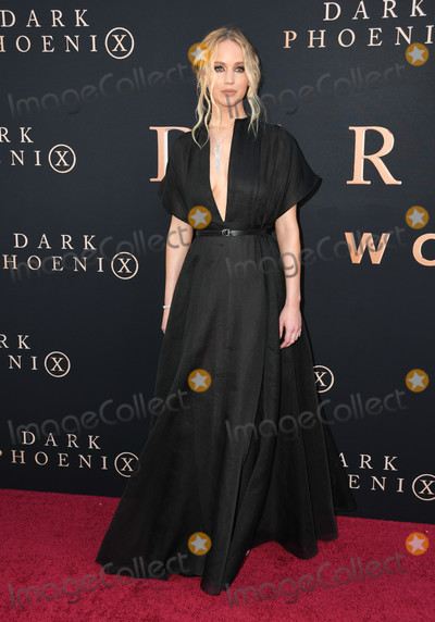 "Jennifer Lawrence Photo - 04 June 2019 - Hollywood, California - Jennifer Lawrence. ""Dark Phoenix"" Los Angeles Premiere held at TCL Chinese Theatre. Photo Credit: Birdie Thompson/AdMedia"