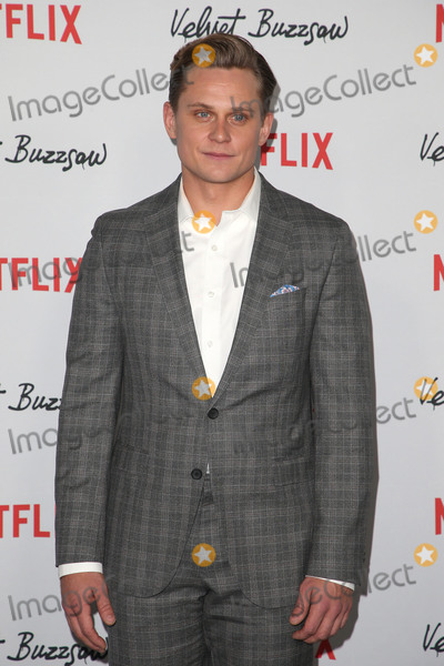 """Billy Magnussen Photo - 28 January 2019 - Hollywood, California - Billy Magnussen. Premiere Screening Of """"Velvet Buzzsaw"""" held at The Egyptian Theatre. Photo Credit: Faye Sadou/AdMeda"""