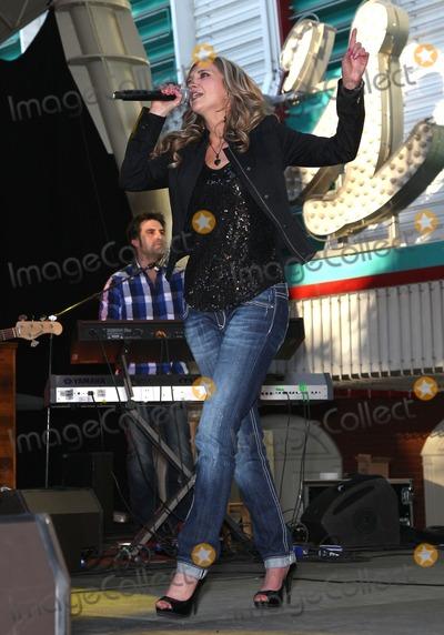 Sarah Darling Photo - 1 April 2011 - Las Vegas, Nevada - Sarah Darling. ACM Concerts at Fremont Street Experience. Photo: MJT/AdMedia